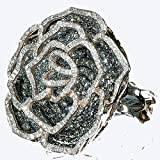 5.00 Carat (ctw) 14k Gold Real Diamond Cocktail Ring