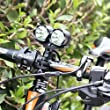GRDE� Super Hell LED 4000 Lumens Fahrradlampe mit 3 Modi 2X XM-L T6 Birnen Au�en Wasserdicht Design Fahrradlicht, Leistungsstark Wiederaufladbar f�r Fahrrad Fahren, Wanderung, Camping, Jagd, Sports Fahrradbeleuchtung Fahrrad-Frontlichter
