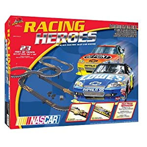NASCAR Racing Heroes Slot Car Racing Set!