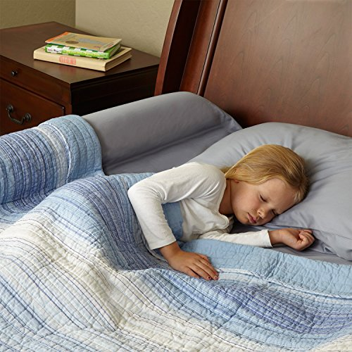 toddler bed rail bumper foam safety guard for bed side. Black Bedroom Furniture Sets. Home Design Ideas