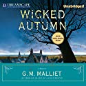 Wicked Autumn: A Max Tudor Novel (       UNABRIDGED) by G. M. Malliet Narrated by Michael Page