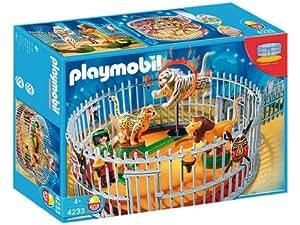 Playmobil - 4233 - Playmobil  - Dresseur Avec Cage Aux Fauves