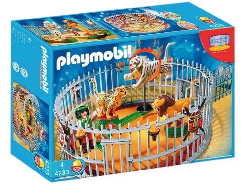 Jouet : Playmobil - 4233 - Playmobil  - Dresseur Avec Cage Aux Fauves