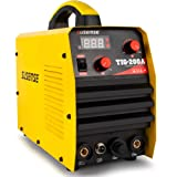 SUSEMSE TIG200A TIG Welder Tig/Arc/Stick Tig Welding Machine High Frequency 220V DC 200Amp Inverter IGBT MMA Digital Display