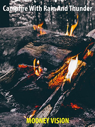 Campfire With Rain and Thunder