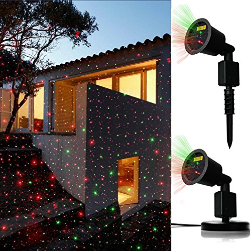 JD Laser Lights Landscape Projector Laser Beams Christmas