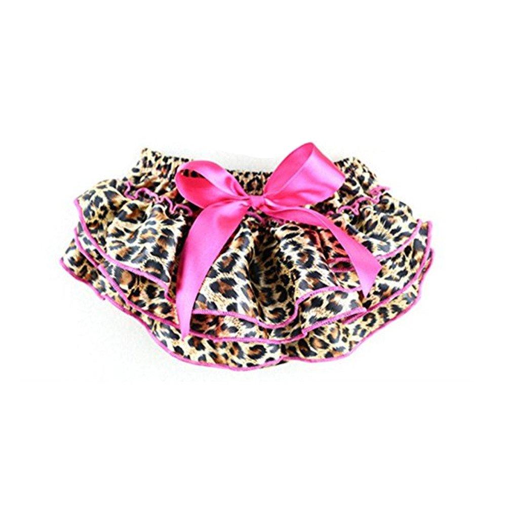 EQLEF® nette Baby-Rüsche-Schlüpfer-Schriftsatz Bloomers Fashion Leopard-Muster-Baby-Hosen online kaufen