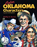 Color Oklahoma characters: A poster/coloring book