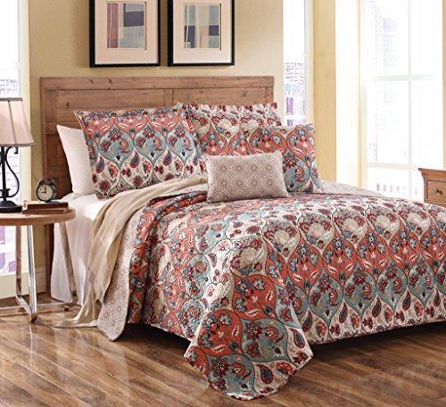 King Size Bedspread Sets 2882 front