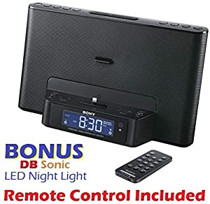 sony dream machine dual alarm clock ipod iphone speaker dock with am fm stereo. Black Bedroom Furniture Sets. Home Design Ideas