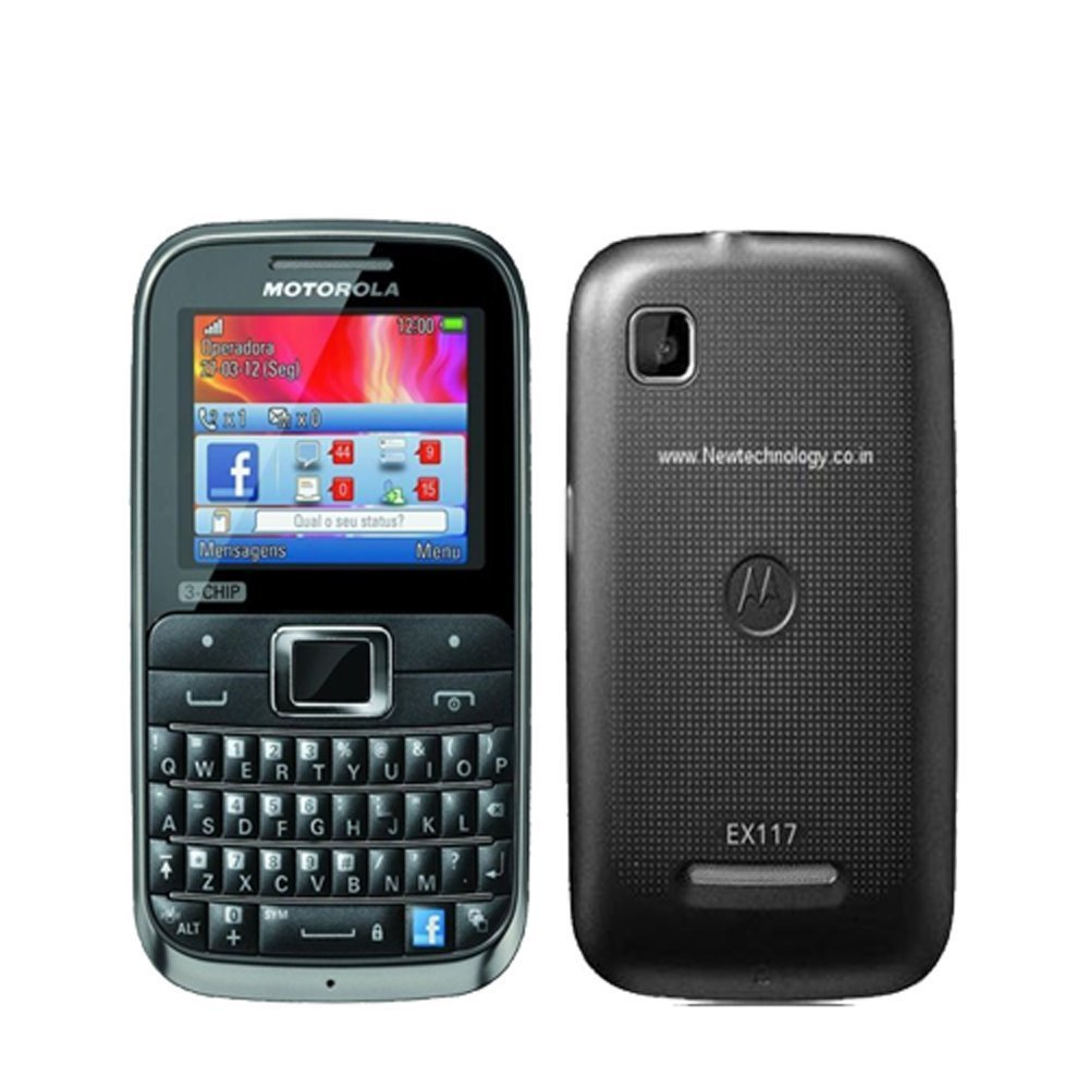 Motorola-MOTOKEY-EX117-3-Chip-Unlocked-GSM-Phone-with-QWERTY-Keypad-2-MP-Camera-Dedicated-Facebook-Button-and-microSD-Slot-Brown-Black