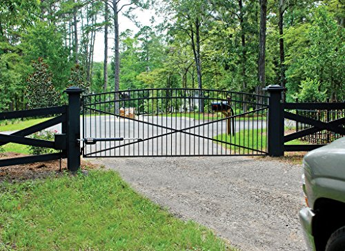 Mighty mule automatic gate opener for medium duty single