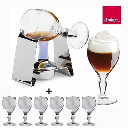 Spring Irish Coffee Set Include 6Occhiali di Spring rivenditore autorizzato