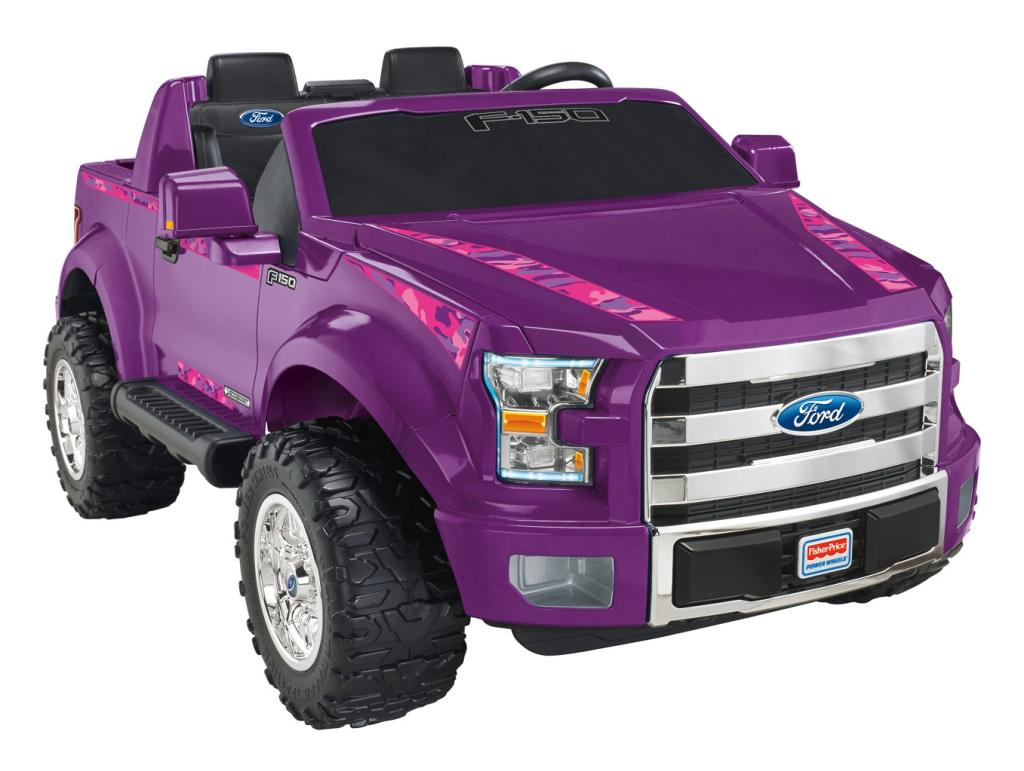 Amazon.com: Fisher-Price Power Wheels Ford F-150 - Purple
