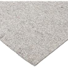 Felt Sheet, Gray, No Backing, Grade F7, Wool Content: 80% Minimum, SAE F7, Inch