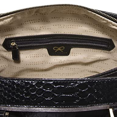 Anya Hindmarch® for Target® Medium Python Satchel - Black : Target from target.com