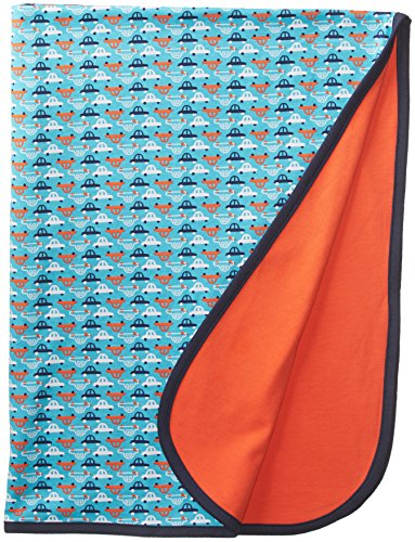 Zutano Baby-Boys Newborn Vroom Blanket, Pool, One Size