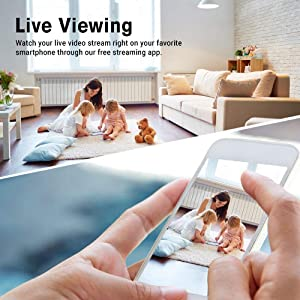 Spy Camera Wireless Hidden - Hidden Cam WiFi Photo Frame - Nanny Cams with Cell Phone APP - 720HD Night Vision & Motion Detection 365 Days Battery Powered Standby Instant Alerts for Indoor Security
