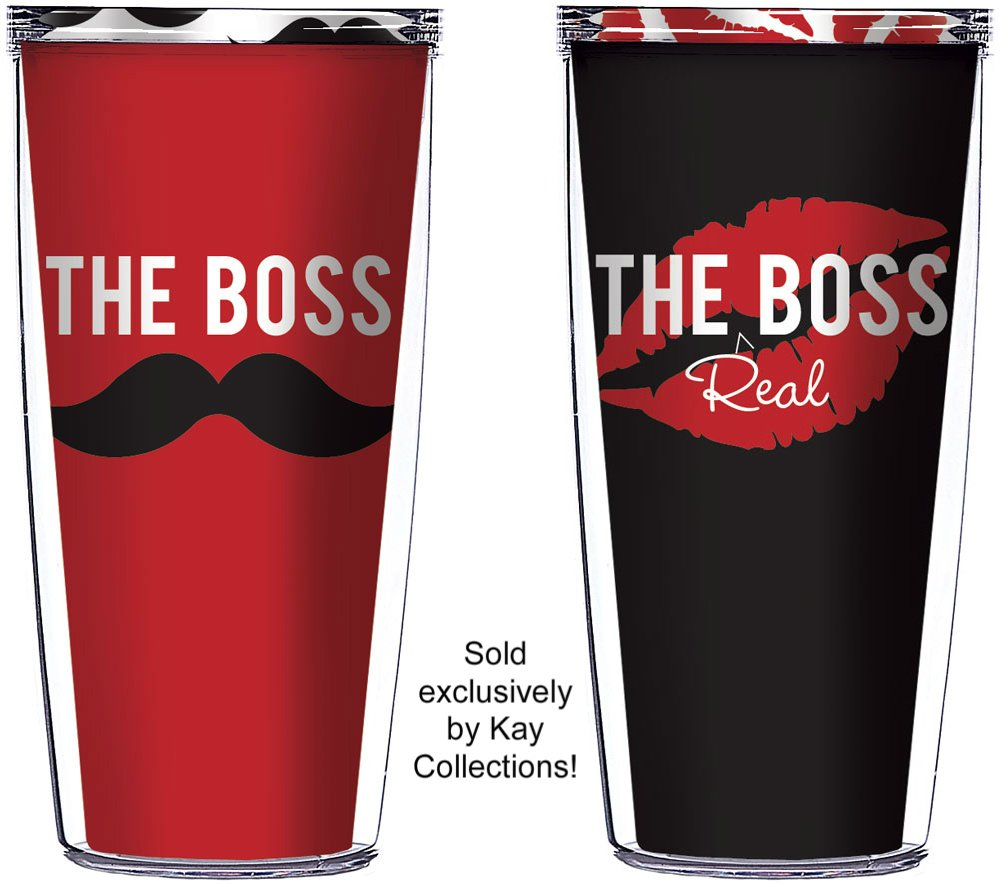 Great Wedding Gifts For Your Boss : Boss 16 Oz Tumblers Great for Anniversary or Wedding Gifts Wedding ...