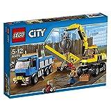レゴ シティ パワーショベルとトラック 60075