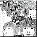 The Beatles Revolver Album Cover Fridge Magnet