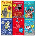 David Walliams Collection 6 Books Set