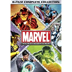 Marvel Animated Features 8-Film Complete Collection