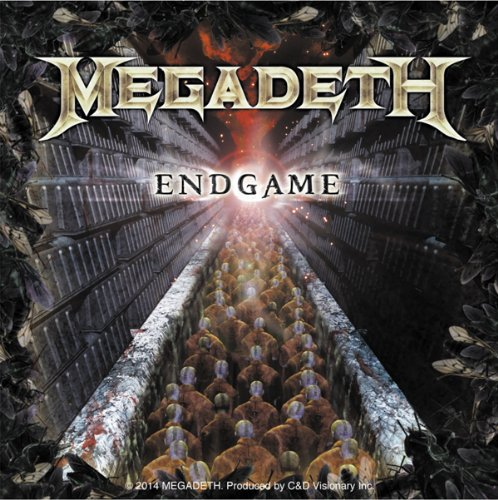 Licenses Products Megadeth Endgame Sticker, 4 x 4""
