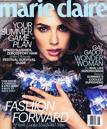 Marie Claire June 2017 大きい表紙画像