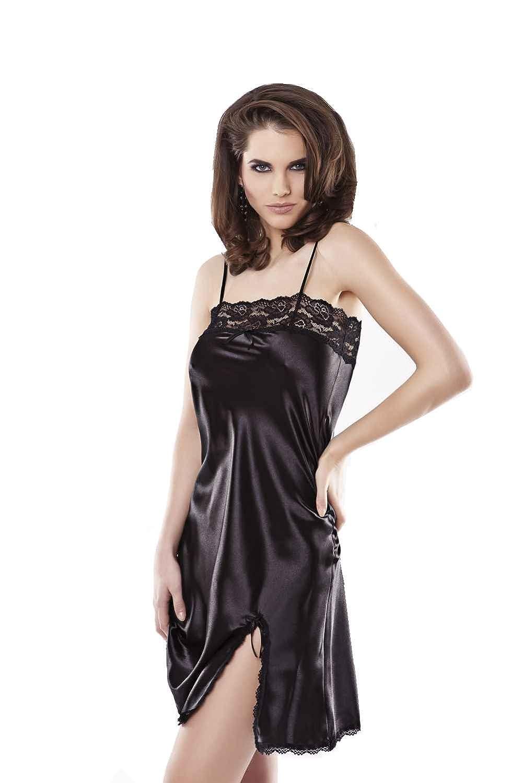 Lady-Mode Negligee aus Satin Bella (S - 2XL)