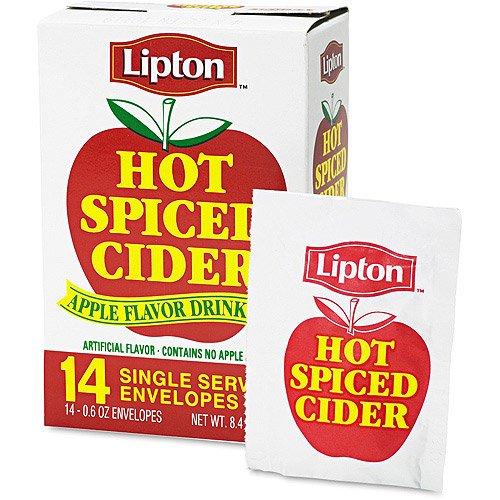 Lipton Hot Spiced Cider, 14 Ct