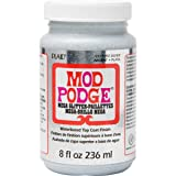 Mod Podge CS17293 Mega, 8 oz, Silver Glitter (Color: Silver Glitter, Tamaño: 8 oz.)