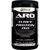 ARO-Vitacost Black Series Whey Protein Isolate Natural Chocolate, 2lb (908 g)