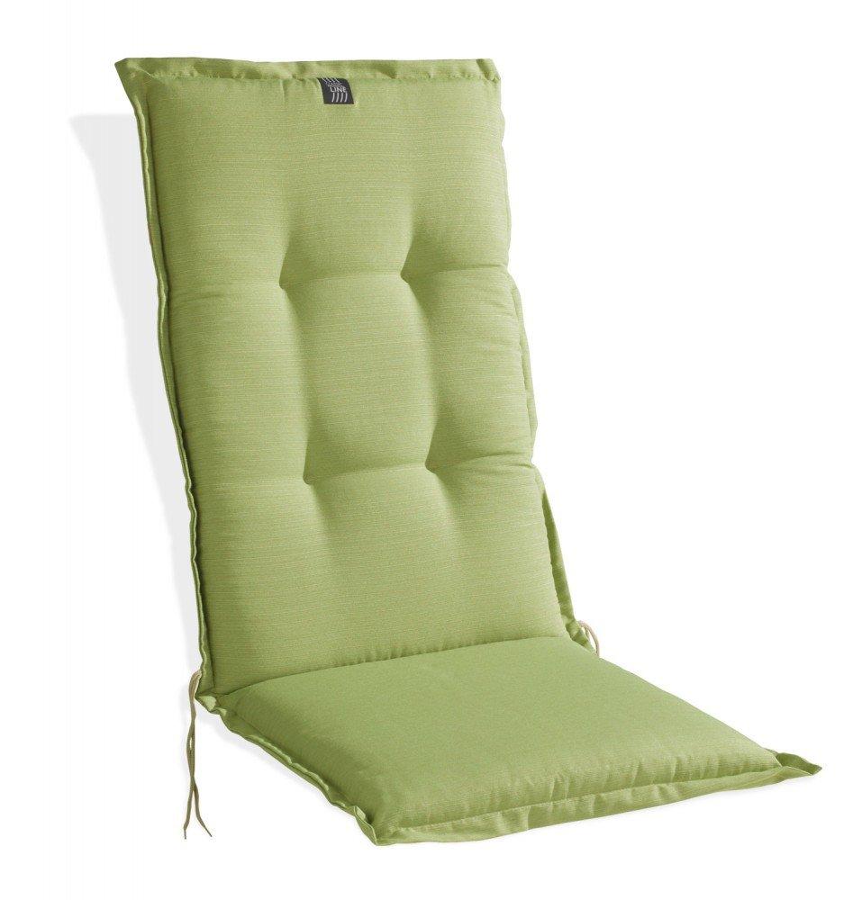 Sesselauflage Polsterauflage grün für Hochlehner Lime 1