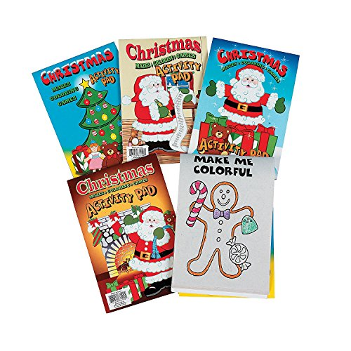 HOLIDAY ACTIVITY PADS II (1 DOZEN) - BULK