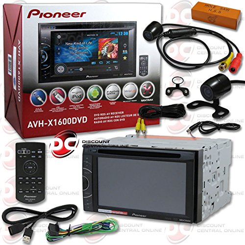 2014 Pioneer Double Din 6 1 Touchscreen Am Fm Dvd Mp3 Wma