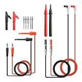 14 in 1 Multimeter Test Leads with Alligator Clips, LIUMY Portable Multimeter Leads for Digital Multimeter/Clamp Meter, Professional Volt Meter Leads for Voltage Circuit Tester and More