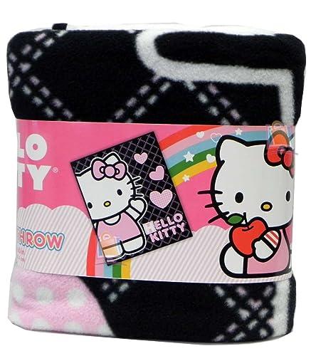 Hello Kitty Pillow And Throw Blanket Set : Hello Kitty Blankets - TKTB
