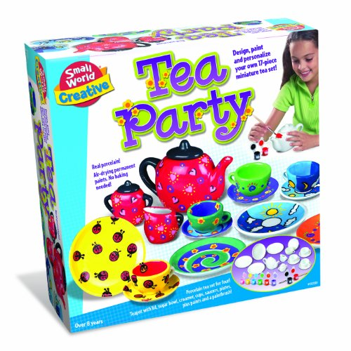 Small World Toys Creative - Tea Party 17 Pc. Porcelain Set - 1