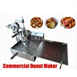 Commercial Manual Breakwater donut ball Donut Round Donut Fryer Maker Making Machine 110V AC 60Hz Three Molds type