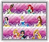 Disney Princess Glamour Designer Prints ~ Edible Image Icing Cake Topper ~ New!!!
