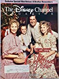 1987 - Nov 8-Dec19 - The Disney Channel Magazine Program Guide - The Christmas Visitor Premiere - Collectible