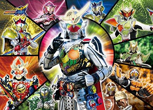 300ピース ジグソーパズル 仮面ライダー鎧武 ライダー戦国バトル ラージピース(38x53cm)
