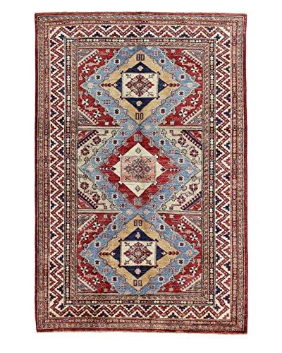 Bashian Fine Kazak Hand-Knotted Rug, Multi, 4' 9 x 7' 3