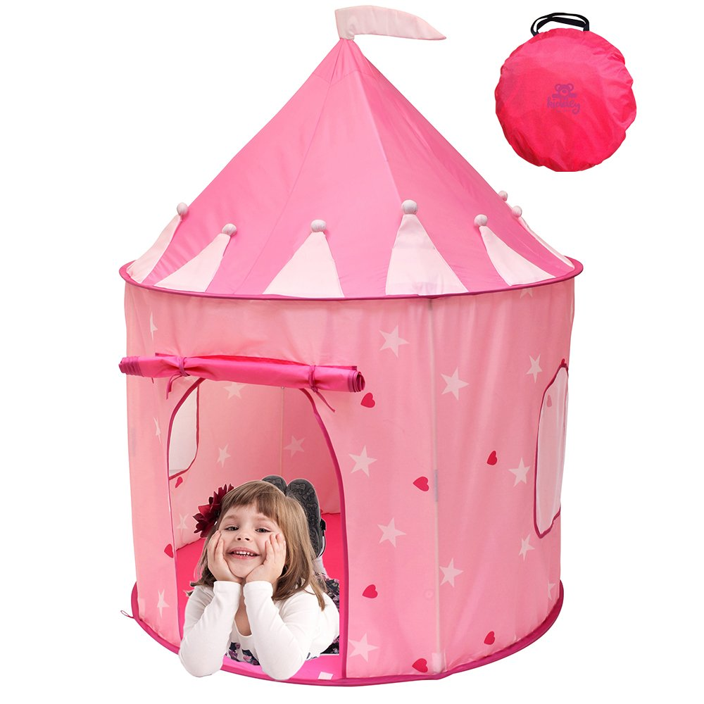 Kiddey™ Girl's Pink Princess Castle, Best Kids Play Tent for Your Children, Durable and Portable-great Children Playhouse for Indoor or Outdoor, Makes Great Gift By Kiddey™ by Kiddey jetzt bestellen