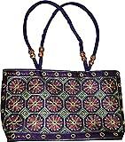Czds India Women's Blue Handbag (BAG-16)