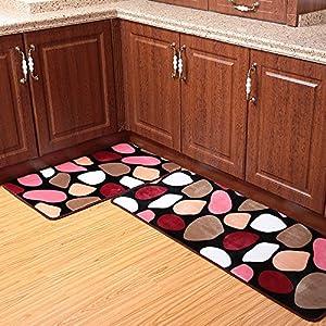 Amazon Ustide 2 Piece Colorful Cobblestone Kitchen