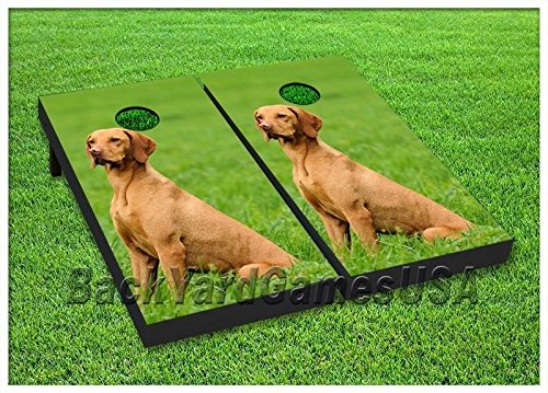 Cornhole-Set-Beanbag-Toss-Game-W-Bags-Canine-Dog-Puppy-Corn-Hole-Game-Boards-50