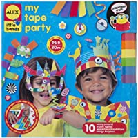 ALEX Toys Little Hands My Tape Party Craft Kit, Assorted Colors