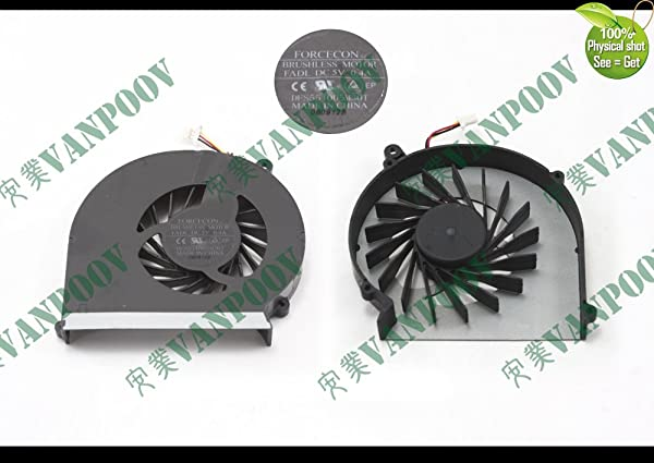 Generic Notebook Laptop Cooling Fan (cooler) Replacement for HP Compaq Presario CQ43 G43 CQ57 G57 430 431 435 436 Series DFS551005M30T FADL (Color: Refer to the picture)